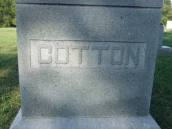 Sallie J <i>Tucker</i> Cotton
