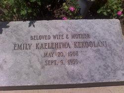 Emily Kaelehiwa Kekoolani