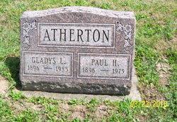 Gladys L <i>Daniels</i> Atherton