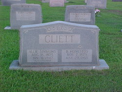 Allie <i>Simmons</i> Cliett
