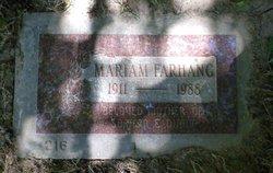 Mariam Farhang