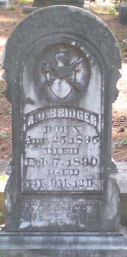 Robert Dixon Bridger, Sr
