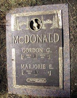 Gordon G McDonald