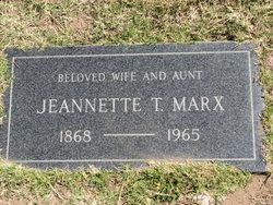 Jeannette T. Marx