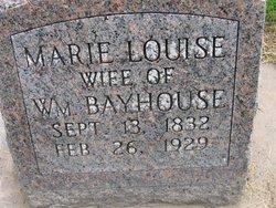 Marie Louise <i>Bertram</i> Bayhouse