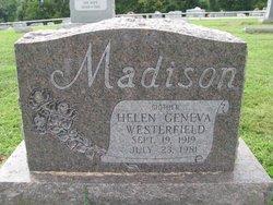 Helen G <i>Westerfield</i> Madison