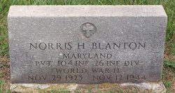 Norris H Blanton