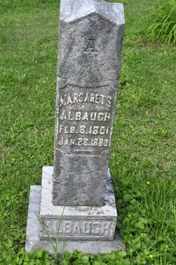 Margaret S. <i>Schenck</i> Albaugh