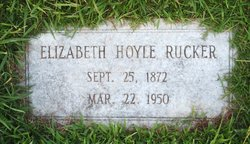 Hannah Elizabeth <i>Hoyle</i> Rucker