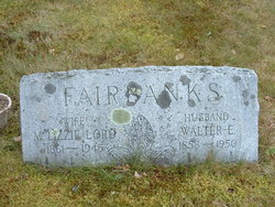 Martha Elizabeth Lizzie <i>Lord</i> Fairbanks