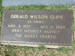 Gerald W Clift