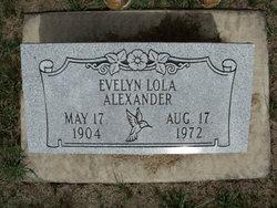 Evelyn Lola Alexander
