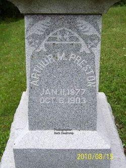 Arthur M Preston