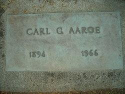 Carl G Aaroe