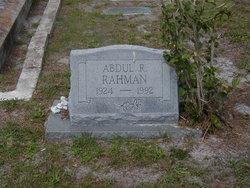 Abdul R. Rahman