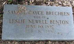 Sammie Cayce <i>Brecheen</i> Benton