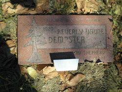 Beverly Vaune Dempster