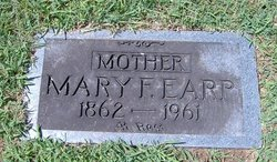 Mary Francis <i>Wright</i> Earp