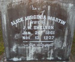Alice Virginia <i>Martin</i> Shelton