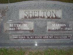 Marion Tilman Shelton