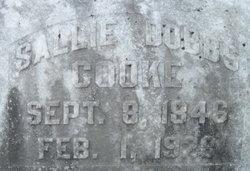 Sallie <i>Dobbs</i> Cooke