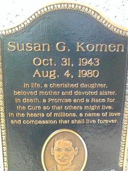 Susan <i>Goodman</i> Komen