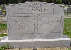 Elizabeth <i>Gibson</i> Carlisle