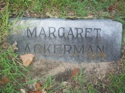 Margaret White <i>Platt</i> Ackerman