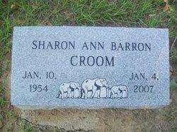 Sharon Ann <i>Barron</i> Croom