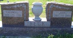 June <i>Ricks</i> Beck