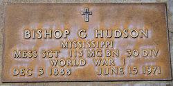 Bishop G Hudson