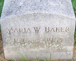 Maria Whiting <i>Palmer</i> Baker