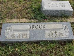 Ersie Lena <i>Jones</i> Brock