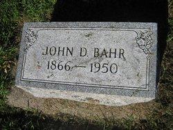 John D Bahr