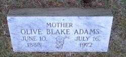 Olive <i>Blake</i> Adams