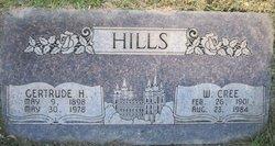 Gertrude <i>Harrop</i> Cree Hills