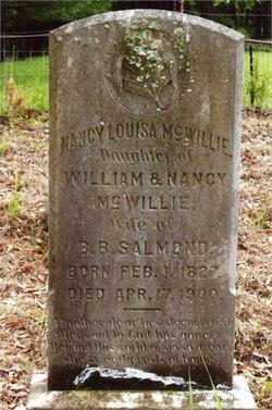 Nancy Louisa <i>McWillie</i> Salmond