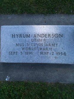 Hyrum Anderson