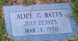 Alice <i>Gardner</i> Batts