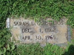 Sarah Louise <i>Hunt</i> Cornelius