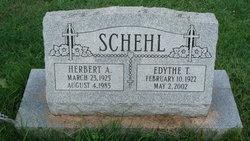 Edythe <i>Teague</i> Schehl