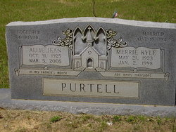 Allie Jean <i>Aubrey</i> Purtell