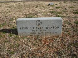 Bennie Hazen Reasor