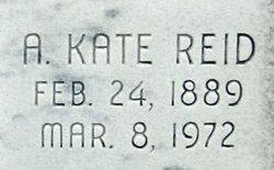A. Kate <i>Reid</i> Bentley