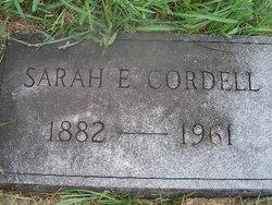 Sarah E. Cordell