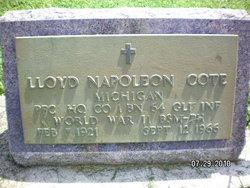 Lloyd Napoleon Cote