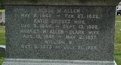Harriet W <i>Clark</i> Allen