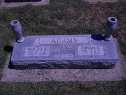 Dorothy Evelyn <i>Srock</i> Adams