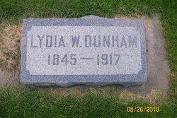 Lydia W Dunham