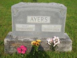 Mary J. <i>Roddy</i> Ayres